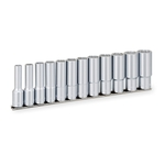 Deep Socket Set (Double Hex with Holder) HDBL412