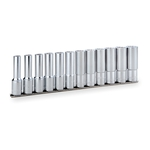 Deep Socket Set (12-point with Holder) HDL412