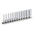 Deep Socket Set (6-point with Holder) HSBL212