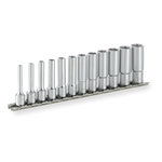 Deep Socket Set (6-point with Holder) HSL212