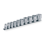 SUS Socket Set (Hexagonal, with Holder) SHS310