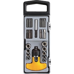 T-Shaped Ratchet Screwdriver Set