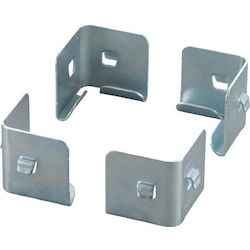 Medium Metal Fittings for Semi-Boltless Lightweight Shelf (4 Pieces Included)