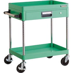 Phoenix Wagon (Noise Suppression Type with Thin Single-Level Drawers) Height 740/880 mm