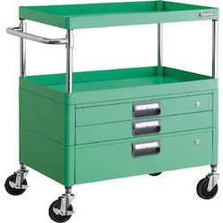 Phoenix Wagon (Noise Suppression Type with Single/Double-Level Drawers) Height 880 mm