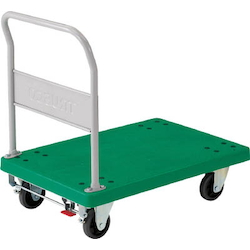 Plastic Trolley, Grand Cart, Fixed Handle Type / with Stopper