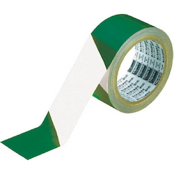 Tora Line Tape for Indoor Use - Green and White/Red and White