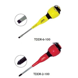 Screwdriver for Electrical Work w/ Fall Prevention (w/ Magnet)