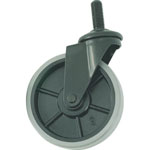 Flex Rack caster (nylon wheel urethane wheel)