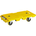 Anti-Static Resin Flat Trolley, Multi Carriage, TAIDENBOUSHI-RENKETSUKUN