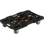 Coupled resin trolley, route van, mesh type
