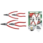 Magic Tip Snap Ring Pliers Set, 4 pcs