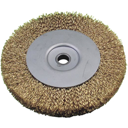 Wheel Brush Steel Wire Plating