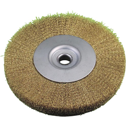 Wheel Brush Brass