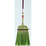 Hand-Knitted Long Handle Broom, Top