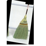 Hand-Knitted Short Handle Broom, Top