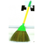 Green-Brown Entryway Broom