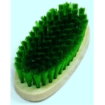 Synthetic Fiber Oval Brush