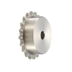 Stainless-Steel (SUS304) Standard Sprocket, B Type (Single Integrated Hub)