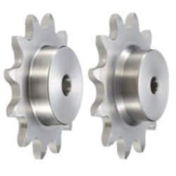 Stainless-Steel Double-Pitch Sprocket, S Roller Type / R Roller Type