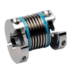 Miniature Metal Bellows Couplings with Compact Split Hubs KB2H