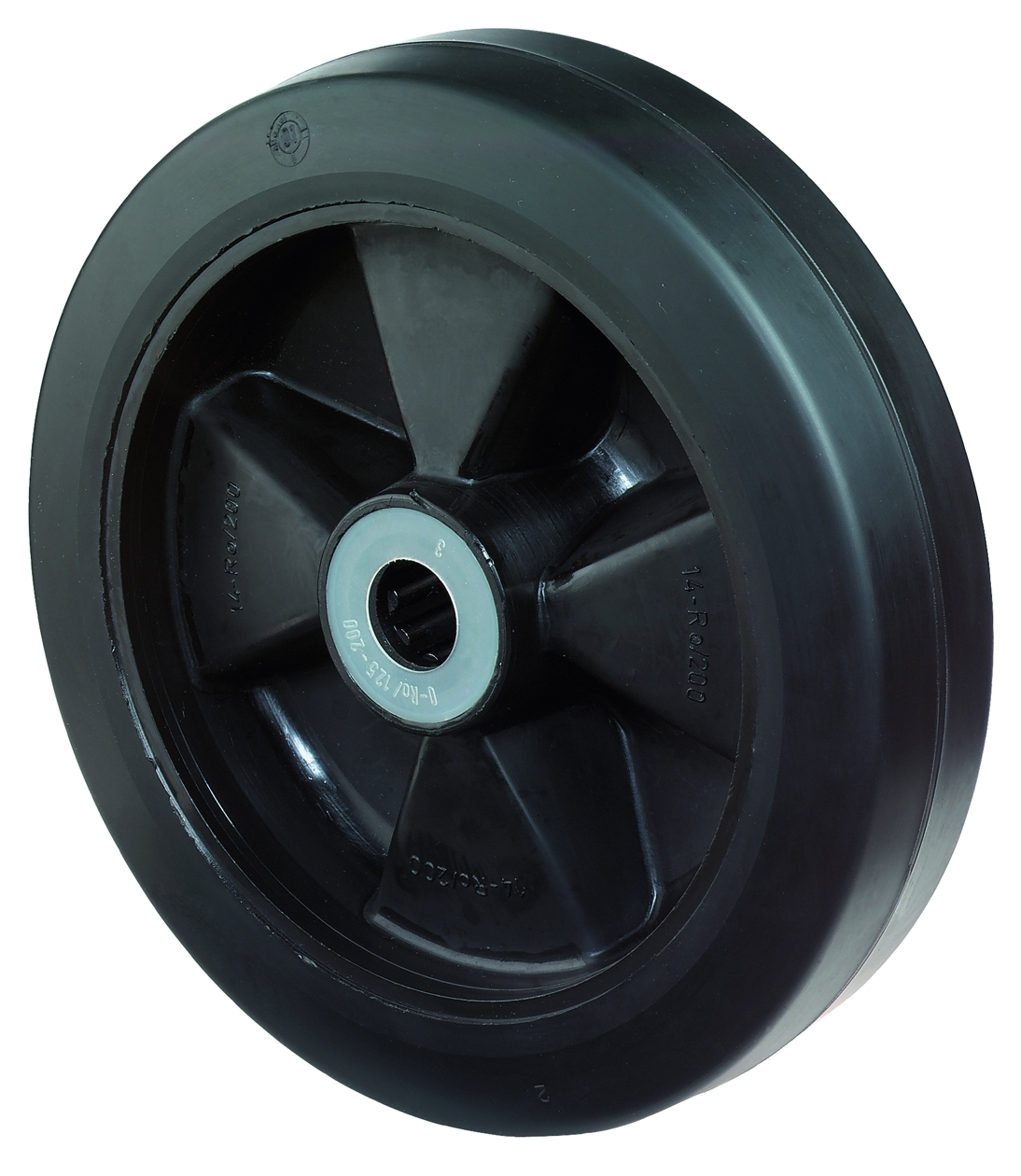 Rubber wheel (B60)