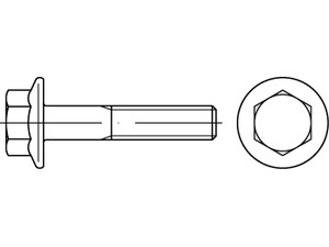 ART 10105 Hexagon flange bolts