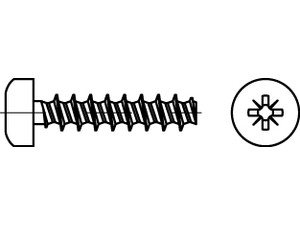 ART 88200 Screw for thermoplastic