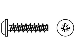 ART 88202 Screw for thermoplastic