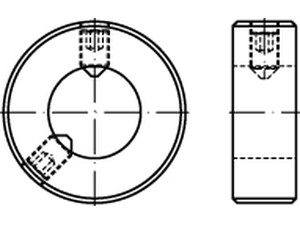 DIN 703 Adjusting rings