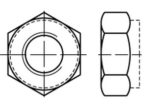 ISO 10513 Hexagon nuts