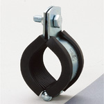 Piping Bracket, Vibration Proof CL Hanging Band and 3t Rubber (Zinc Plating/Stainless)