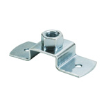 Hanging Pipe Fittings, Screw-in T Type Leg (Electro-Galvanized/Stainless Steel)