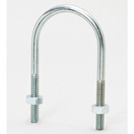 U-Shaped Metal Fitting Long Leg U Bolt +30 (Electrogalvanized/Stainless Steel)