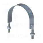 U-Shaped Metal Fitting SPU Band (Electrogalvanized/Stainless Steel)