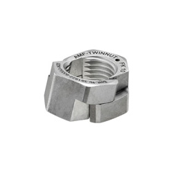 6333S AMF-TWINNUT nut - without collar