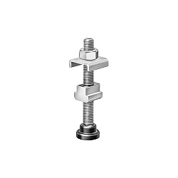 6891 Self-aligning clamping screw