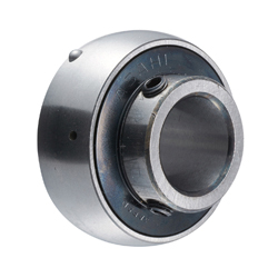 Insert Bearing with Set Screws and Cylindrical Hole Shape, UC Shape