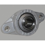 Diamond Flanged Unit, Aluminum Series with Set Screws, Cylindrical Hole Shape, MUCAFL