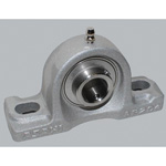 Aluminum Series Pillow Unit with Set Screws, Cylindrical Hole Shape, MUCAP