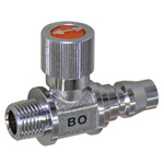 Ace Ball Straight Type (Brass) BO Coupling Connection Type