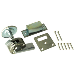 WC Lock, Stainless Steel Color