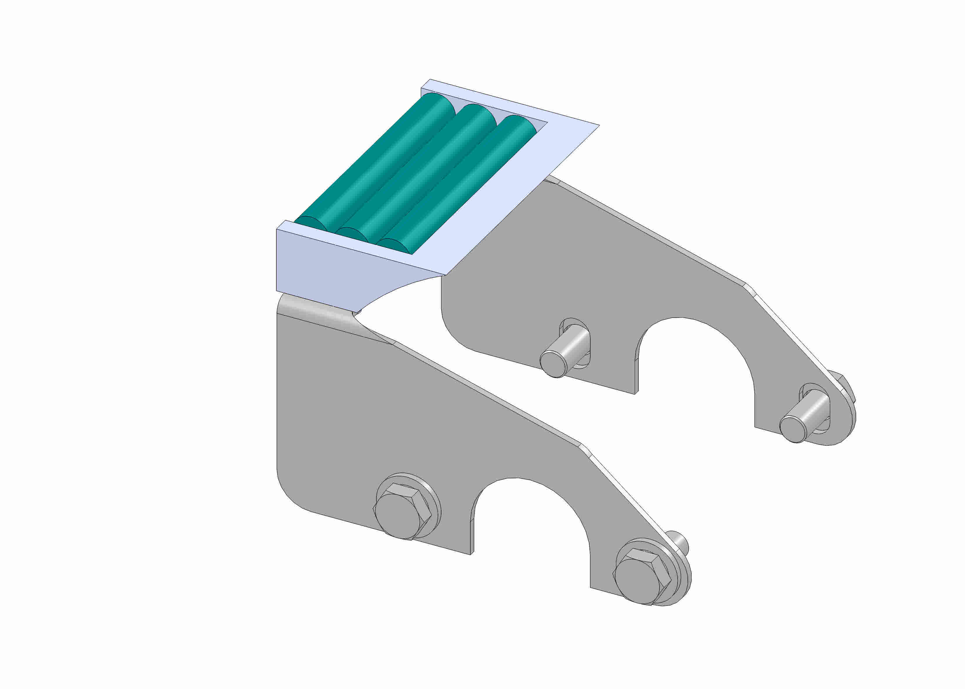 End module 1-fold suitable for deflection pulley and head drive - 85