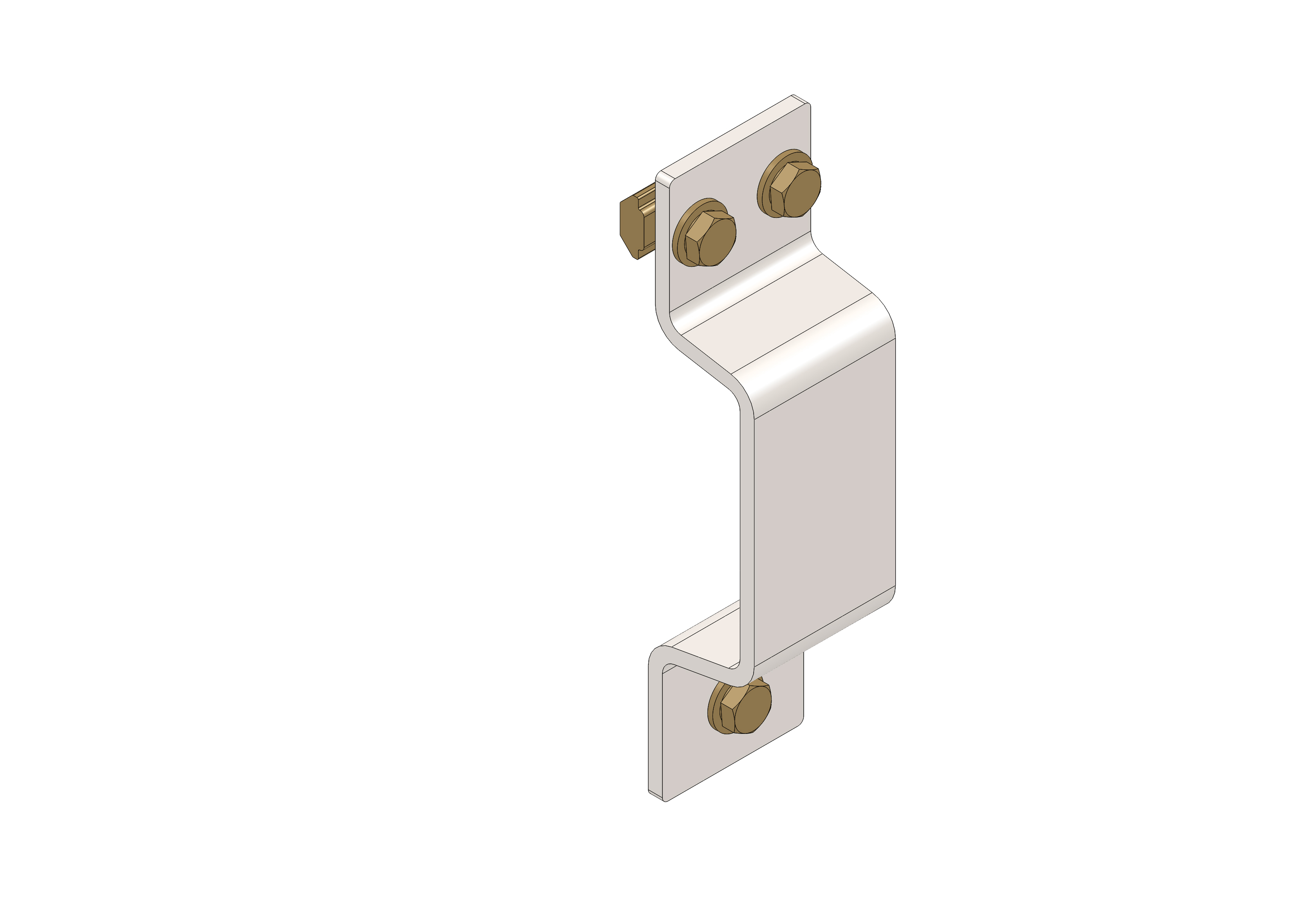 Support bracket for chassis  P50-L kit - 55