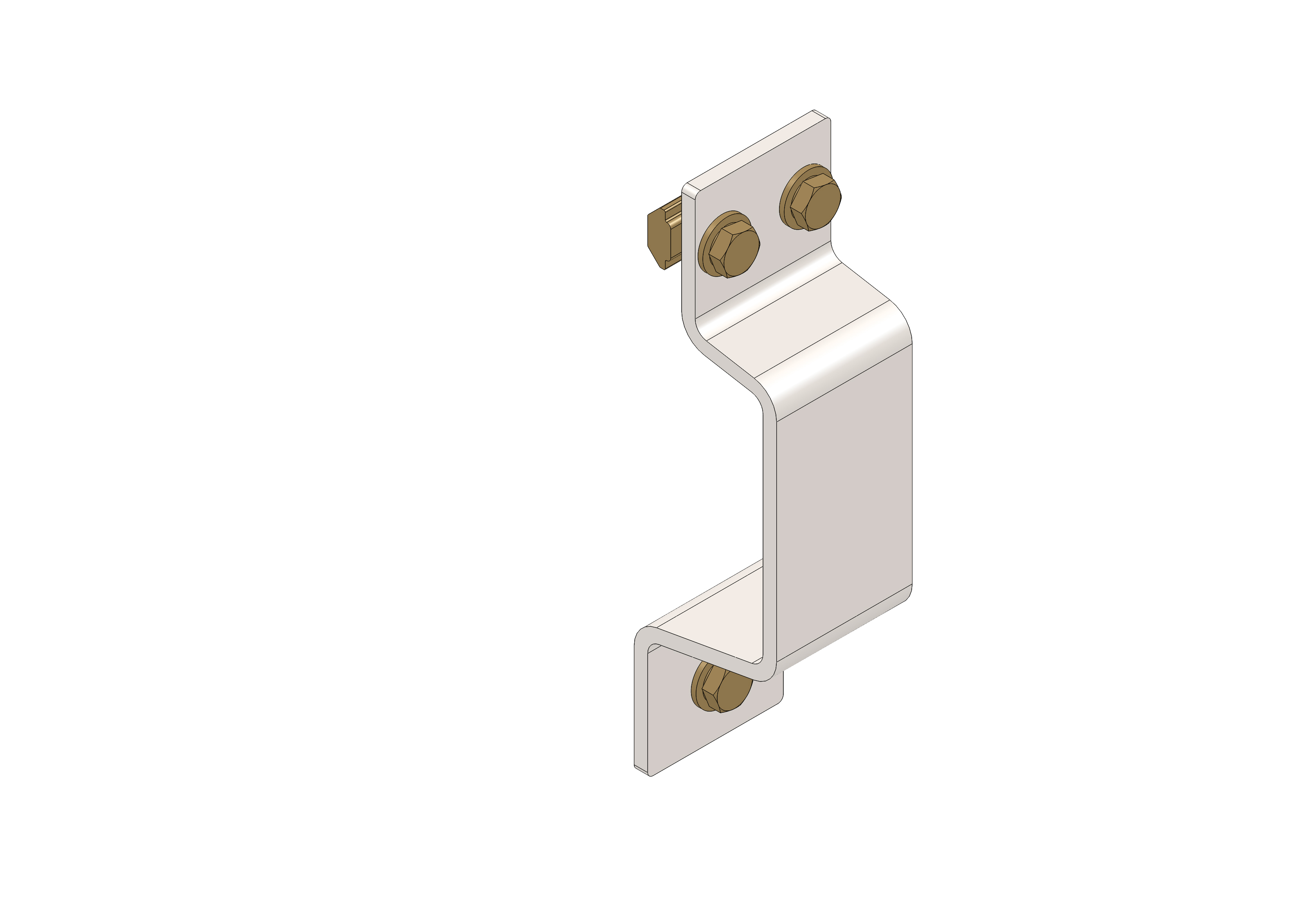 Support bracket for chassis  P50-L kit - 85