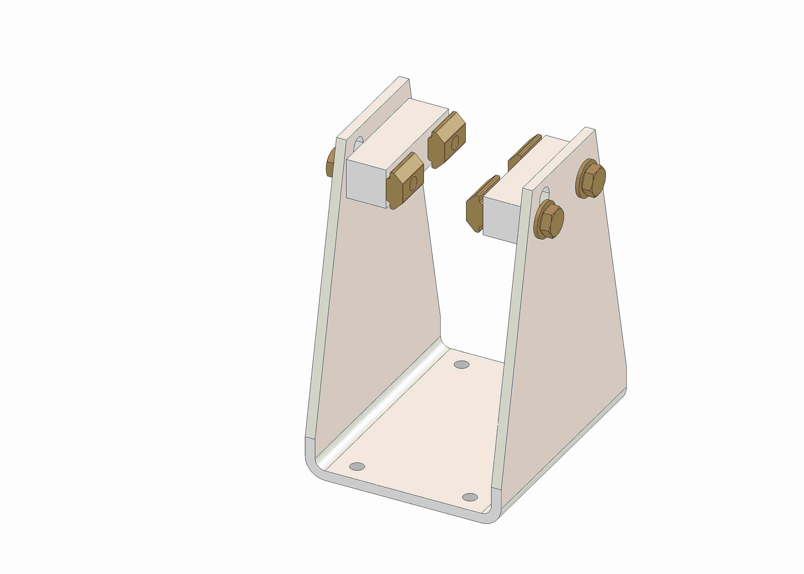 Support bracket for chassis R60 kit - 55