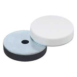 Discs with cover cap (Component feet)