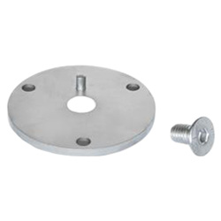 Flanges for swivel ball joints GN 784