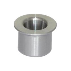 Guide bushings with collar, with conical bore