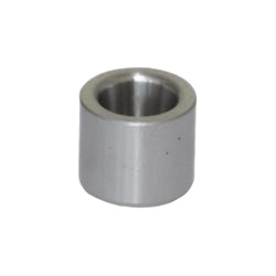 Guide bushings without collar, with conical bore